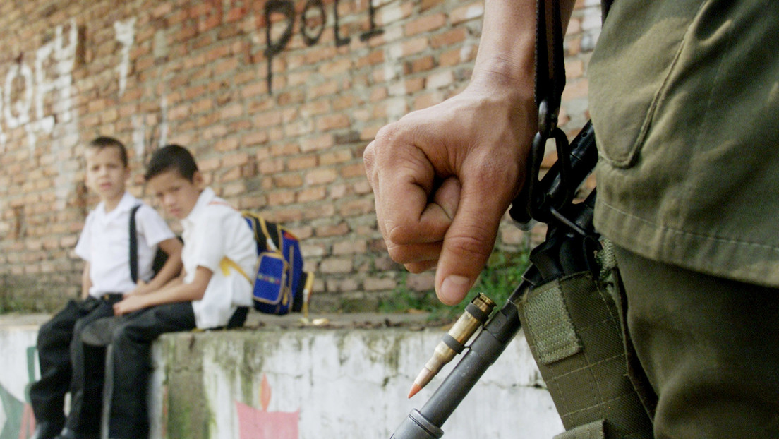 La Defensoría del Pueblo de Colombia calcula que 86 niños fueron reclutados por grupos armados durante la pandemia