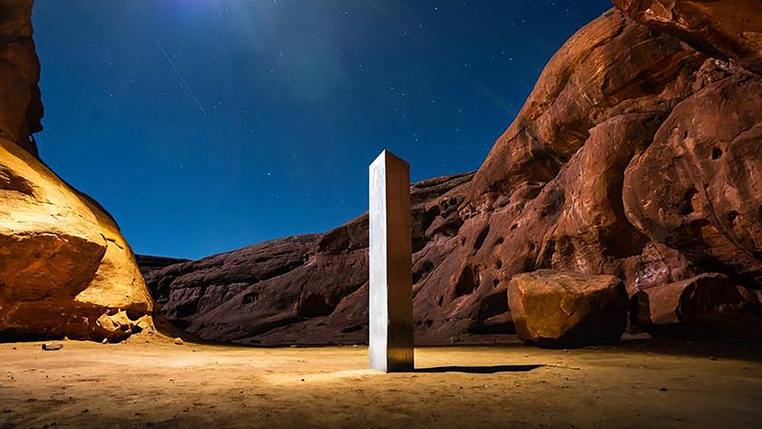 FOTOS: Capta cómo 'desapareció' el extraño monolito del desierto de Utah
