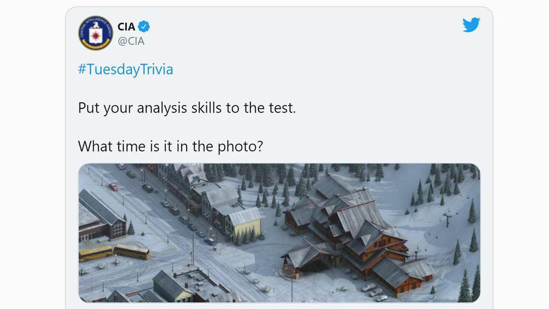 ¿Qué hora es en esta foto?: la CIA invita a resolver acertijos para captar personal