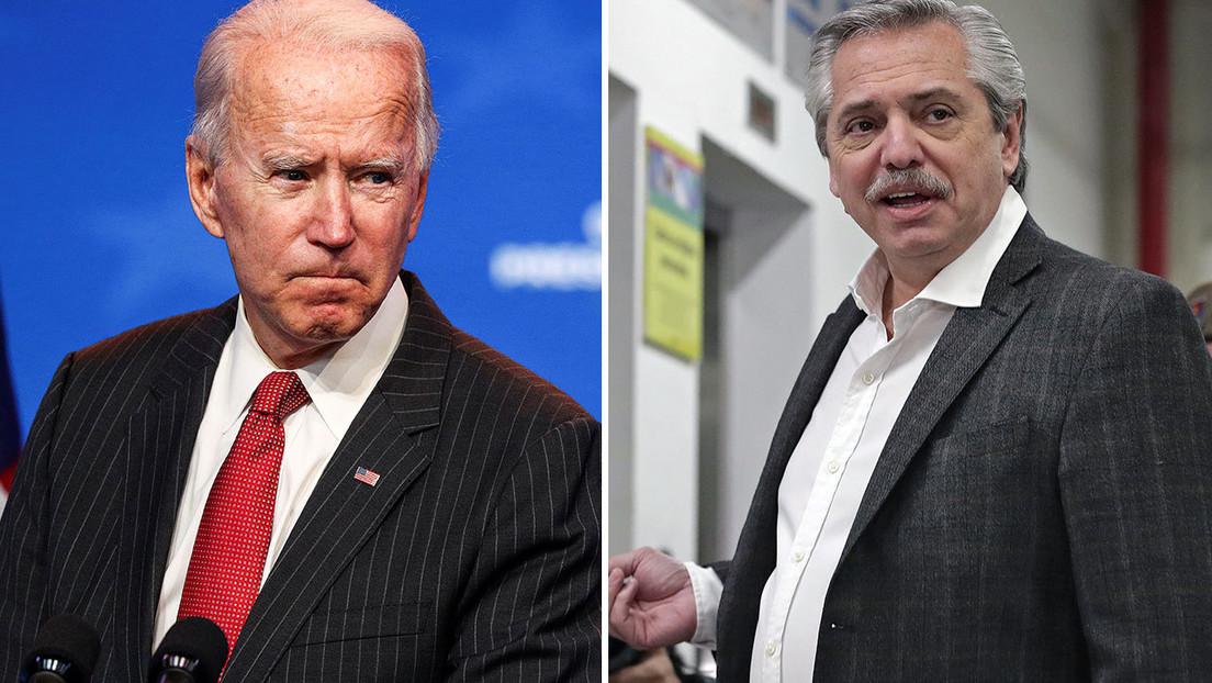 """Reportan el """"malestar"""" por los dichos del canciller argentino sobre un pedido de Alberto Fernández a Biden para que interceda ante el FMI"""