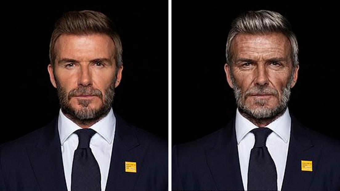 David Beckham viaja al futuro, 'envejece' hasta los 70 años y anuncia la victoria sobre la malaria en el video de una campaña contra la enfermedad