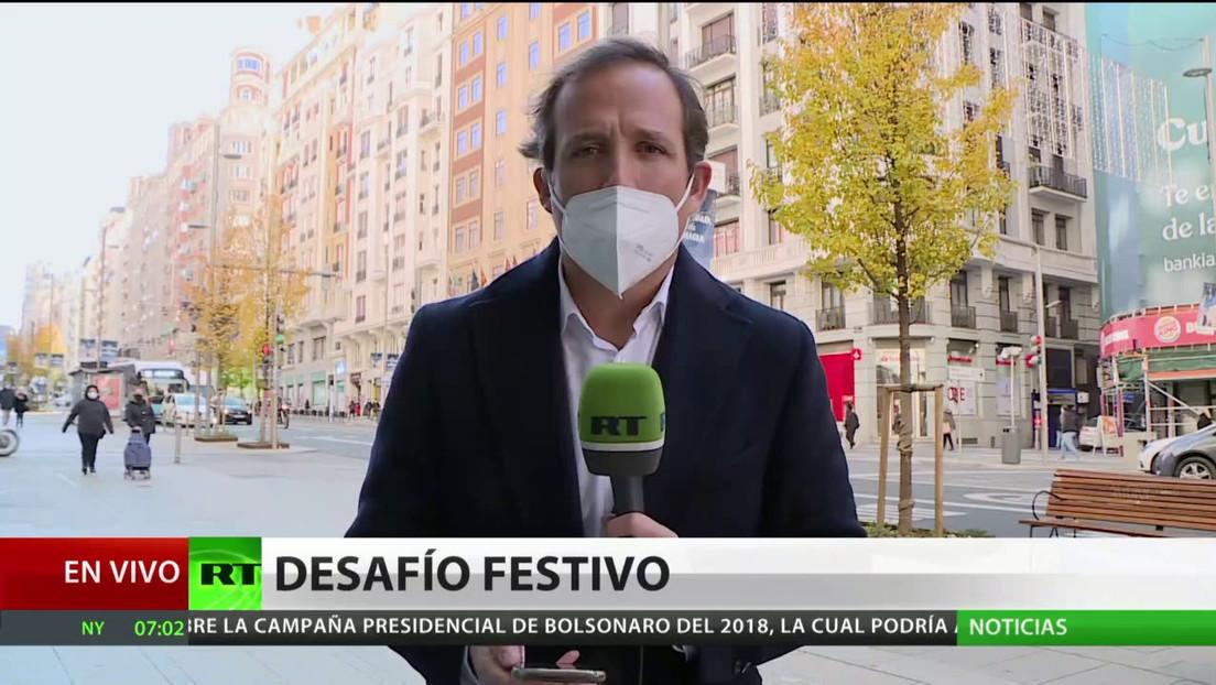 El Gobierno de España aprueba un plan contra el coronavirus para Navidad