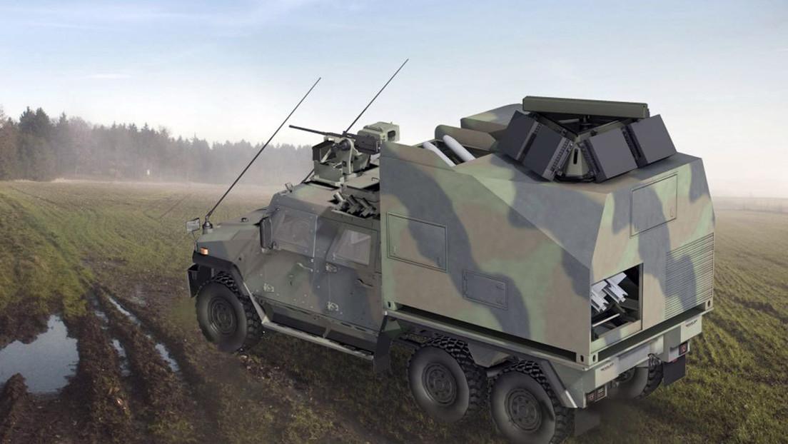 Todos los componentes de un sistema antiaéreo en una sola plataforma: el nuevo blindado móvil y compacto presentado en Alemania (FOTOS)