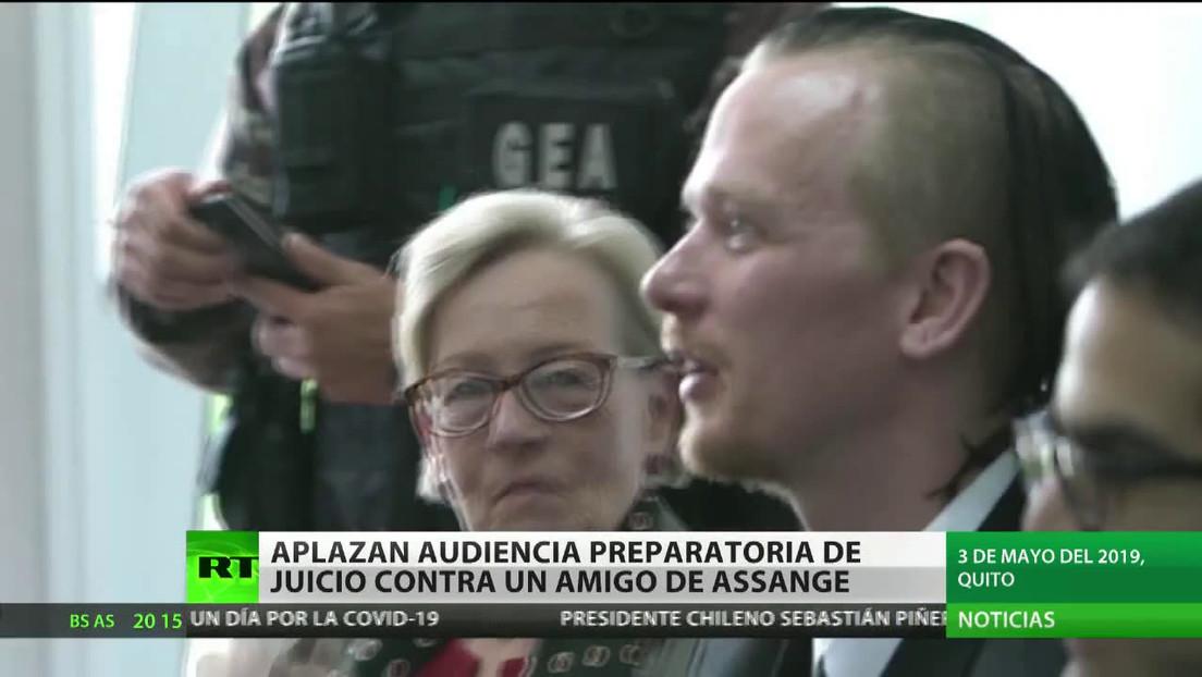 Aplazan en Ecuador audiencia preparatoria del juicio contra Ola Bini, amigo de Assange