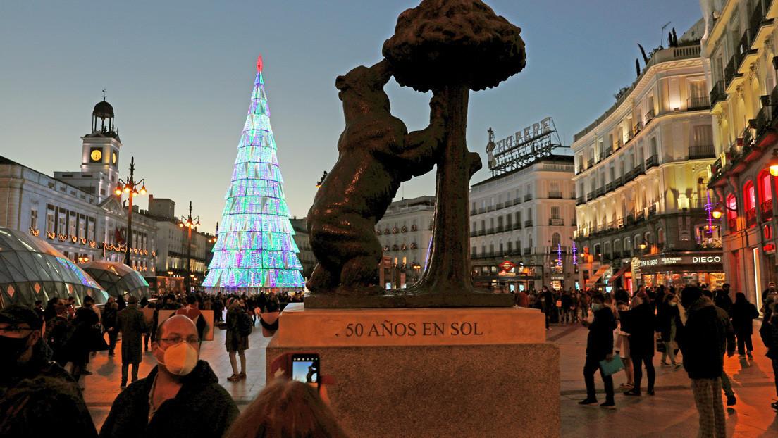 Suspenden las tradicionales campanadas de Fin de Año en la Puerta del Sol de Madrid
