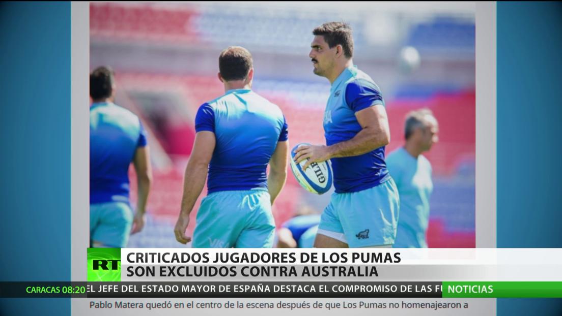 Argentina: Jugadores de la selección de rugby son excluidos del partido contra Australia tras críticas por tuits racistas