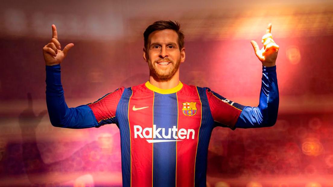 Los internautas se burlan de la réplica de Lionel Messi en el Museo de Cera de Barcelona