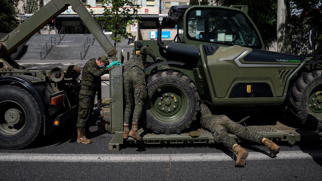 """""""Están tratando de movilizar a otros para presionar al Gobierno"""": Exmiembro del polémico chat de militares españoles retirados"""