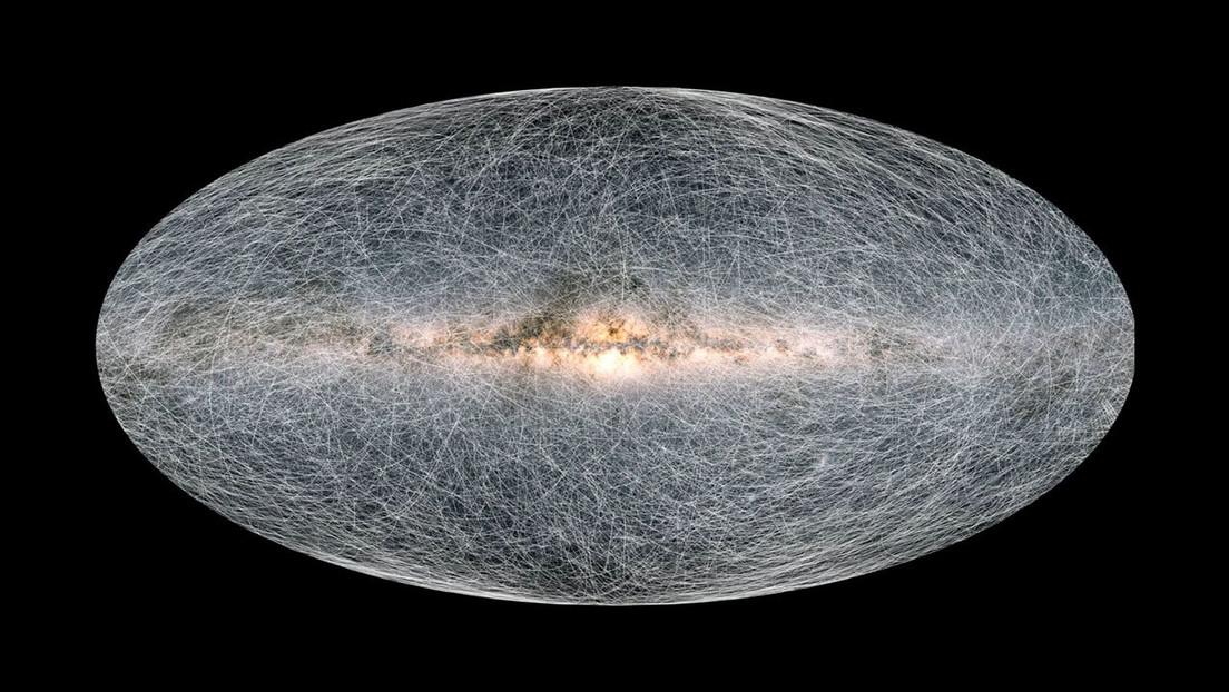 Nuevos mapas de la Vía Láctea revelan que la Tierra acelera y se acerca a un agujero negro