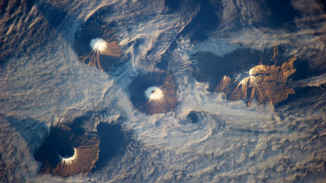 Seis islas de Alaska formarían parte de la caldera de un volcán subacuático