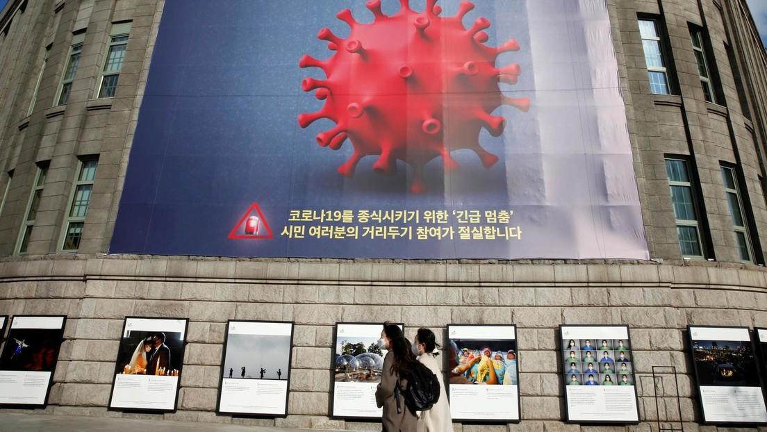 Corea del Sur en alerta por una tercera ola de coronavirus, con un número de infecciones cercano a máximos de hace 9 meses