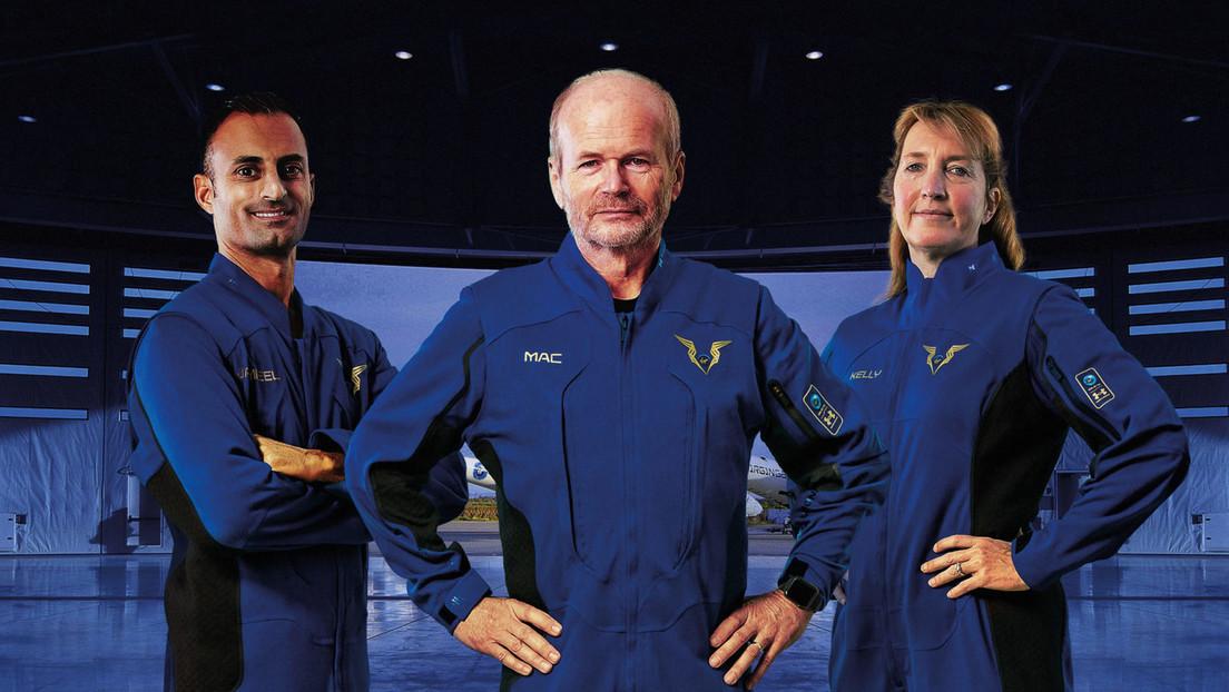 FOTOS: Virgin Galactic revela el diseño de los trajes de sus pilotos de vuelos espaciales comerciales