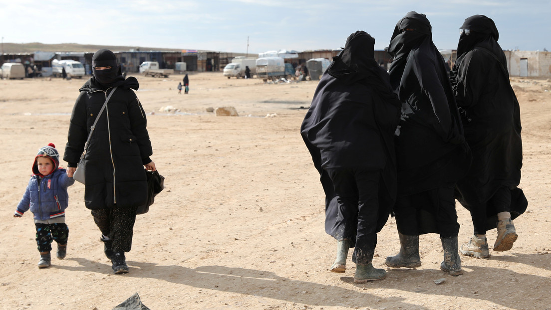 Una mujer desaparecida en Londres a los 18 años es encontrada seis años después en un campo para novias de combatientes del Estado Islámico en Siria