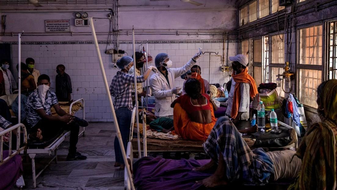 Una misteriosa enfermedad deja un muerto y a más de 300 personas hospitalizadas en la India