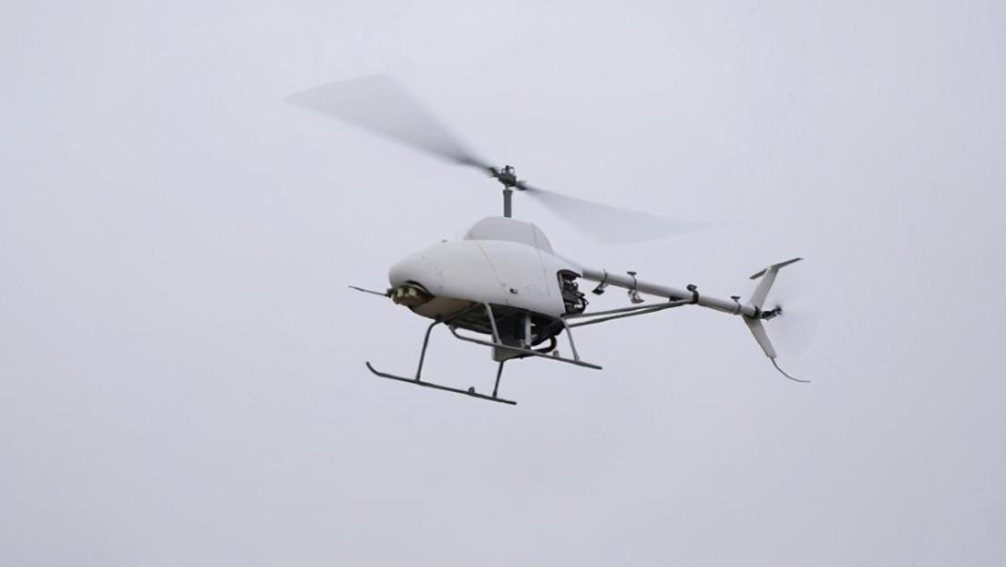 El primer helicóptero no tripulado chino realiza su vuelo inaugural