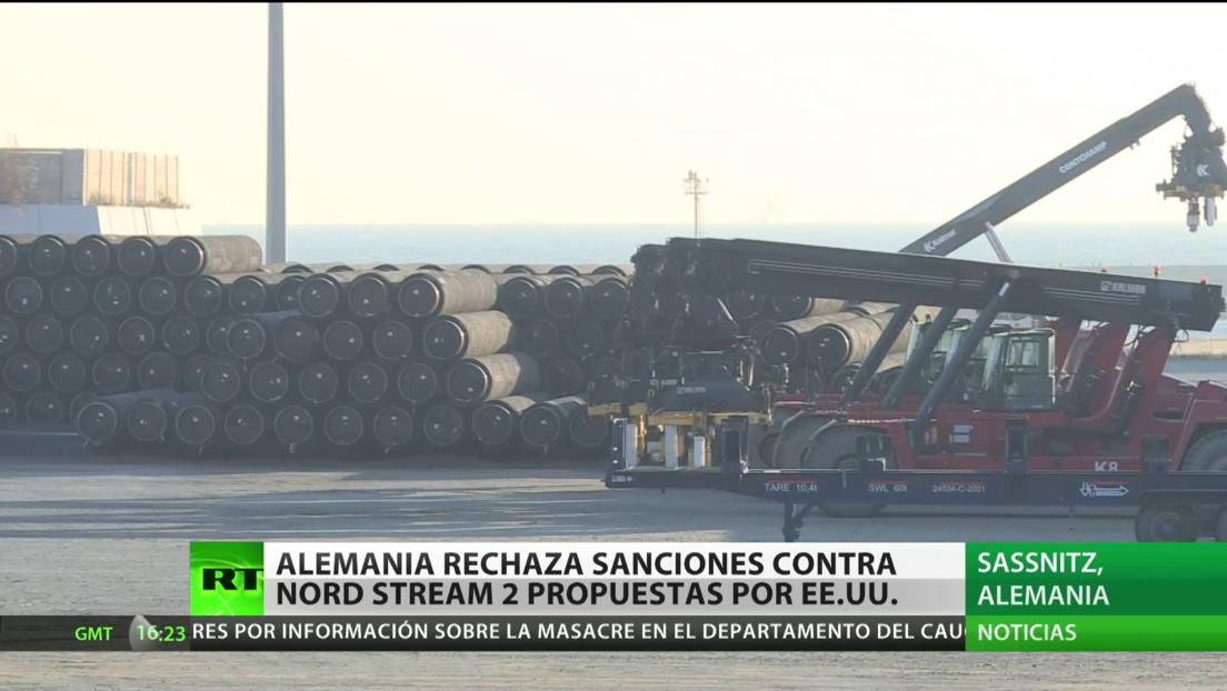 Alemania rechaza las sanciones contra el gasoducto Nord Stream 2 propuestas por EE.UU.