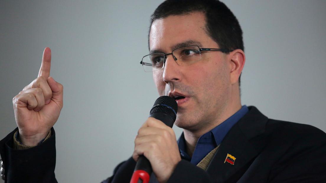 """""""Métase en sus propios asuntos"""": La respuesta del canciller venezolano al Reino Unido por desconocer los resultados de las parlamentarias"""