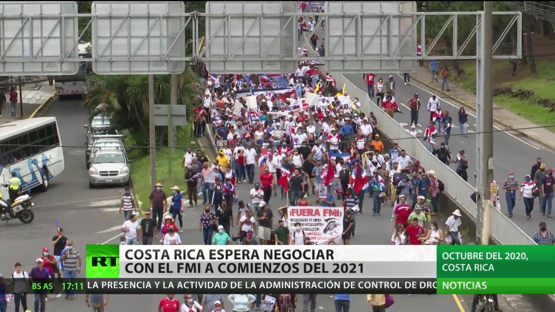Costa Rica espera negociar con el FMI a inicios de 2021