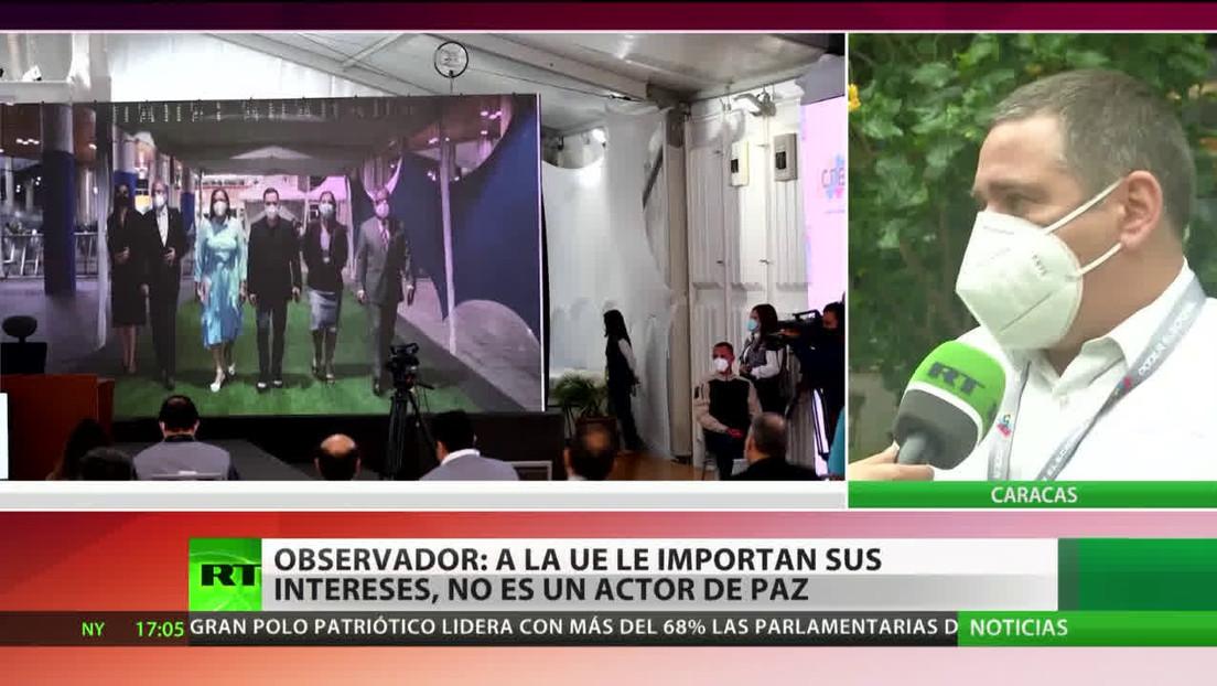 """Observador: La oposición que """"apuesta"""" por el golpe de Estado en Venezuela """"ha quedado fuera de juego"""""""