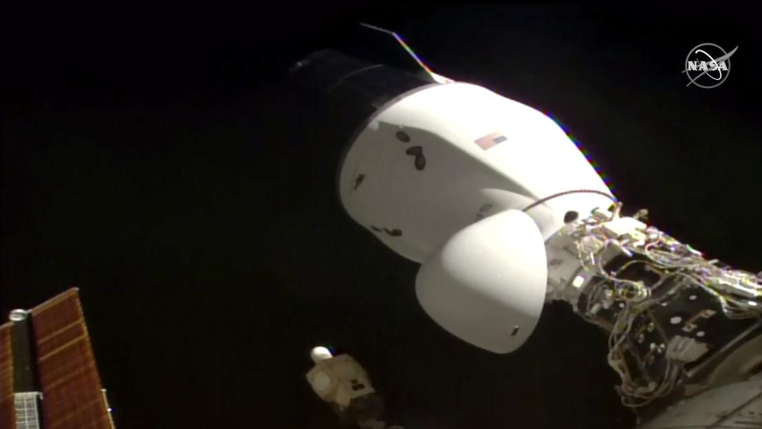 La NASA muestra cómo Cargo Dragon se acopla a la Estación Espacial Internacional (VIDEO)