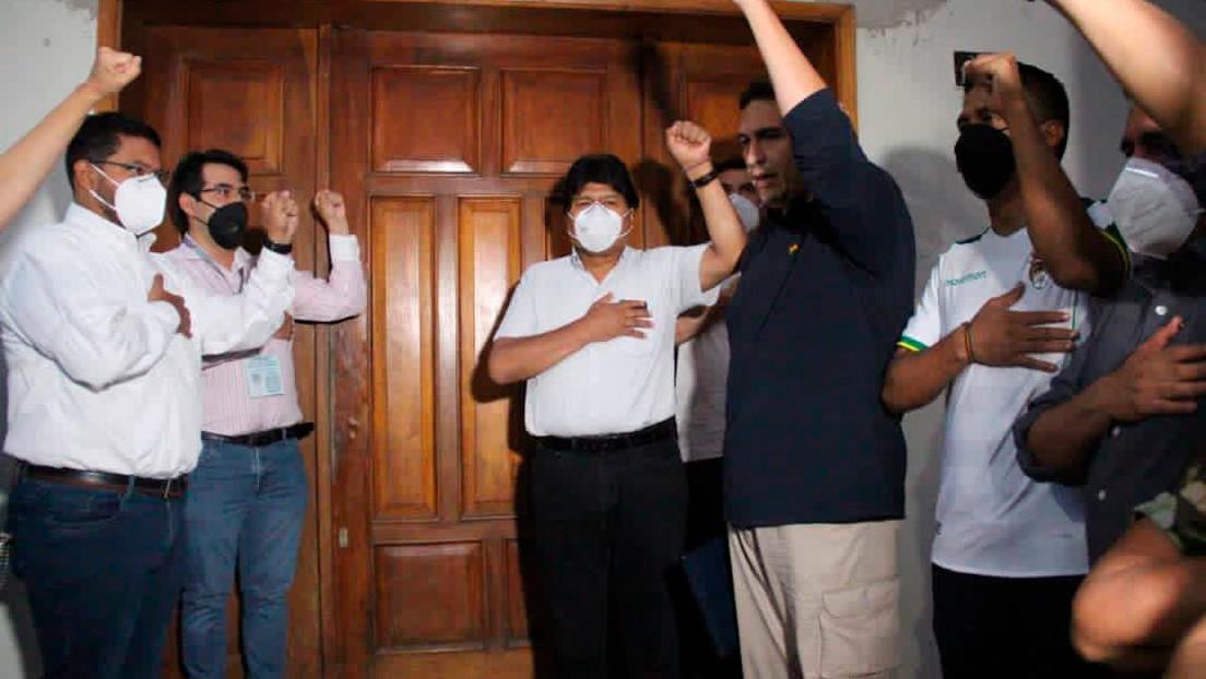 Bolivia reabre su Embajada en Venezuela con la presencia de Evo Morales