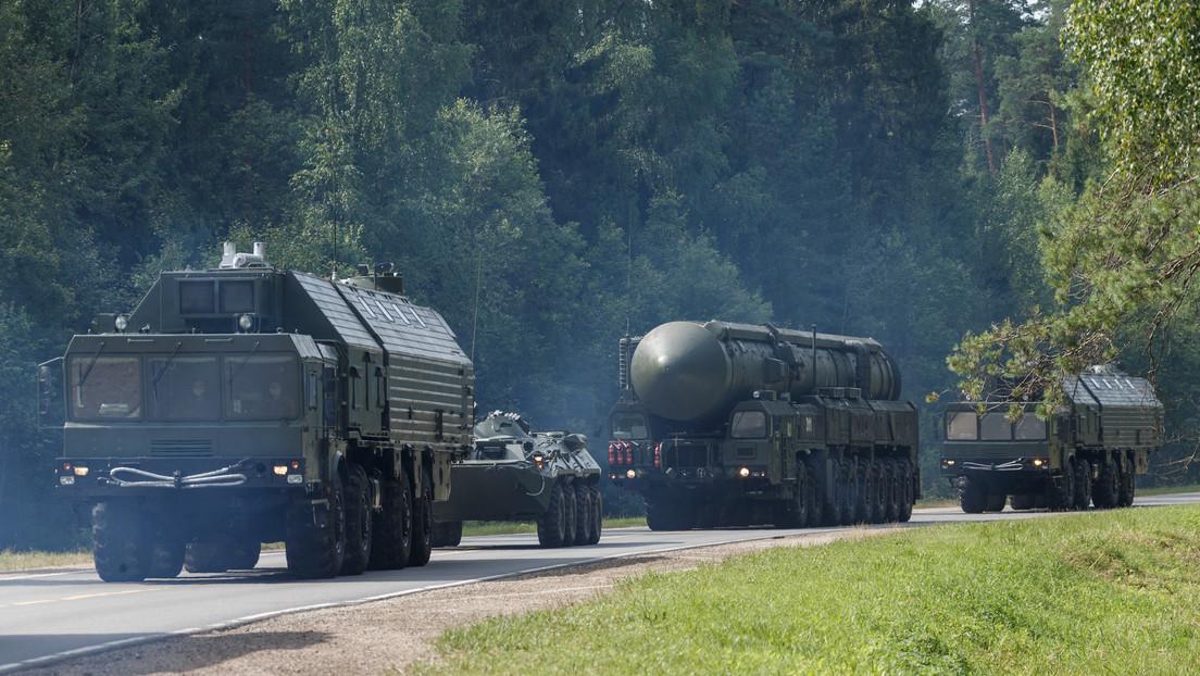 Rusia pone a prueba sus fuerzas nucleares estratégicas en un entrenamiento