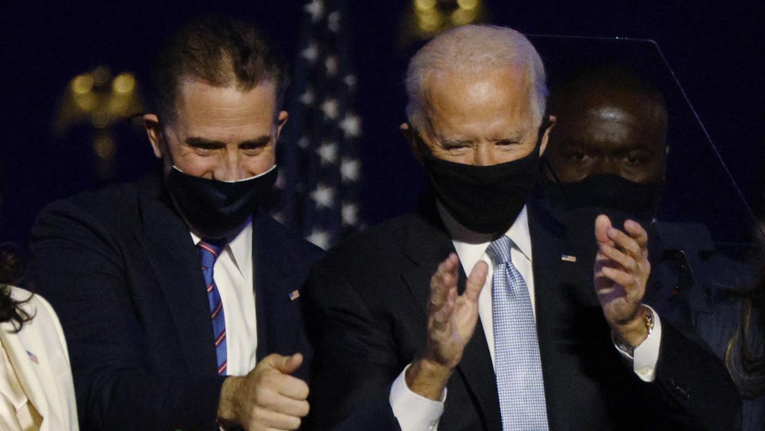 Abren una investigación federal contra Hunter Biden, el hijo de Joe Biden, por asuntos fiscales