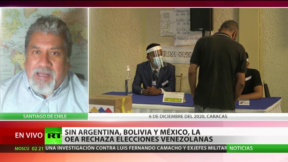 Analista: La OEA sigue la política de EE.UU. para desestabilizar a Venezuela