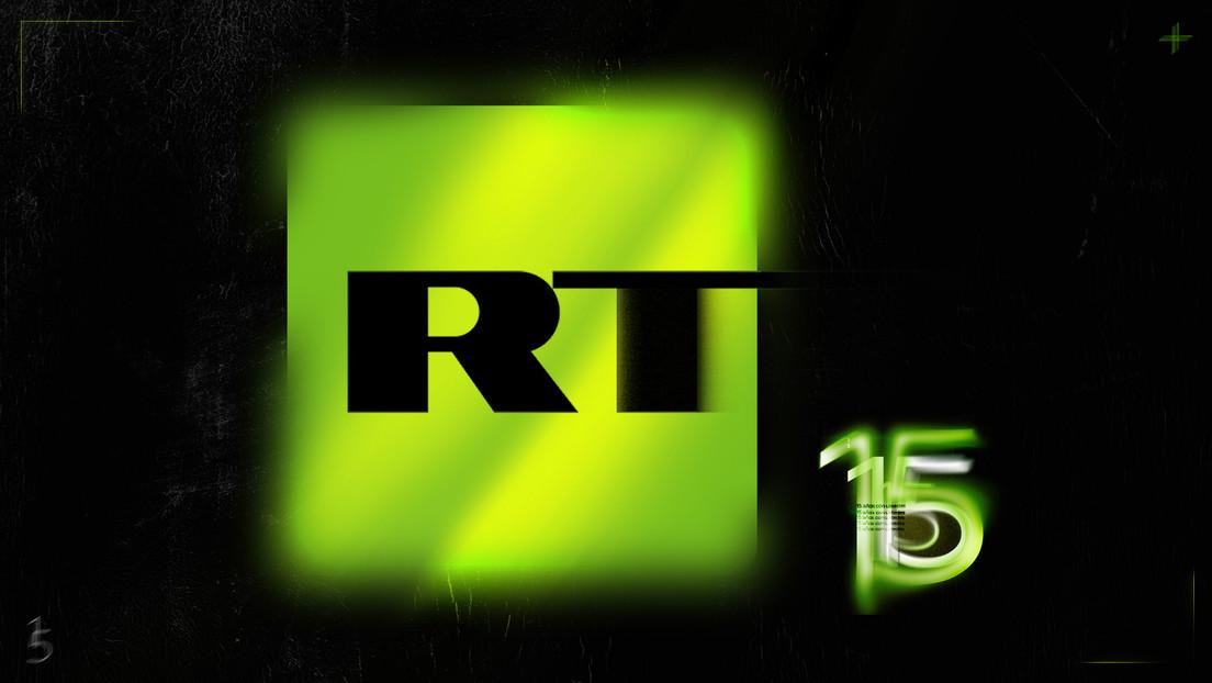 El canal de televisión ruso RT celebra sus 15 años de emisión