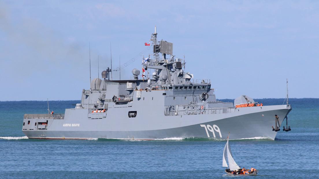 La Armada rusa participará en maniobras navales junto a países de la OTAN por primera vez en 10 años