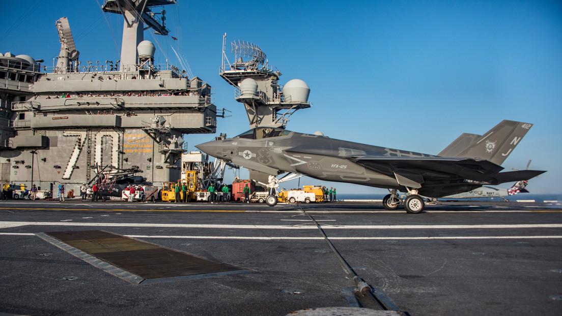 El Cuerpo de Marines de Estados Unidos extiende su alcance de combate con cazas embarcados que operarán desde portaviones