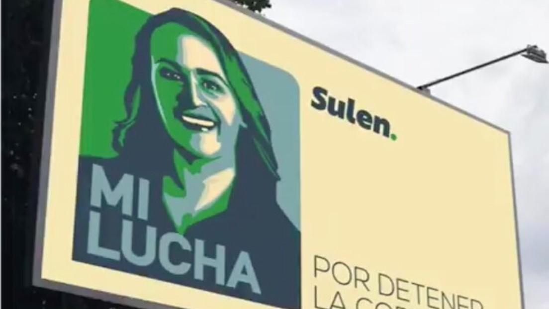 """Candidata al Parlamento salvadoreño se promociona con la frase """"Mi lucha"""" y la Red estalla en comparaciones con el libro de Hitler"""