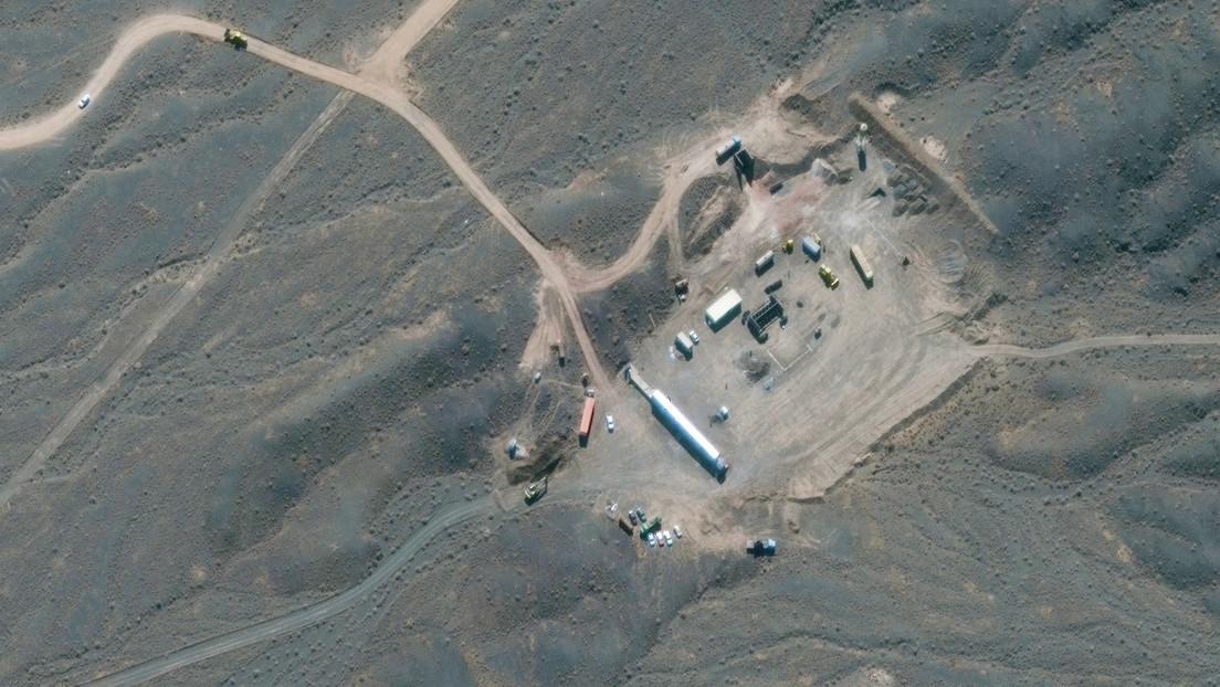 Irán traslada una instalación nuclear clave al interior de una montaña, según imágenes satelitales