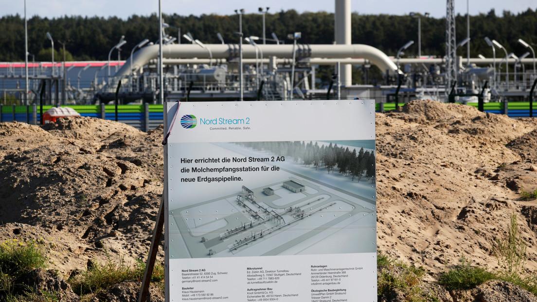Una barcaza rusa empieza las obras para completar el gasoducto Nord Stream 2