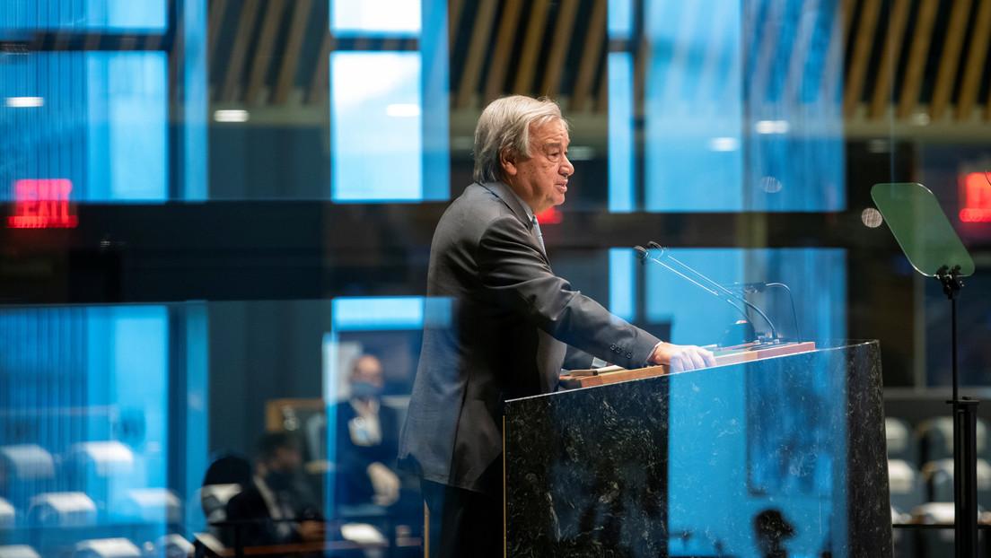 """El jefe de la ONU pide a los líderes mundiales que declaren """"el estado de emergencia climática"""""""