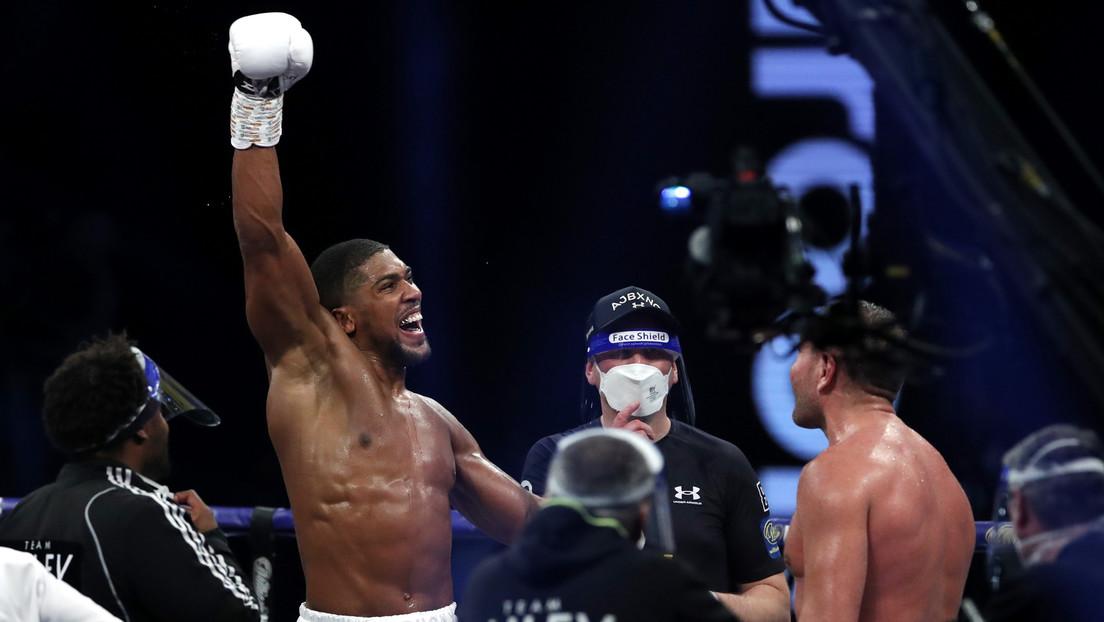 Anthony Joshua derrota a Kubrat Pulev y retiene los títulos mundiales de peso pesado de boxeo (VIDEO)