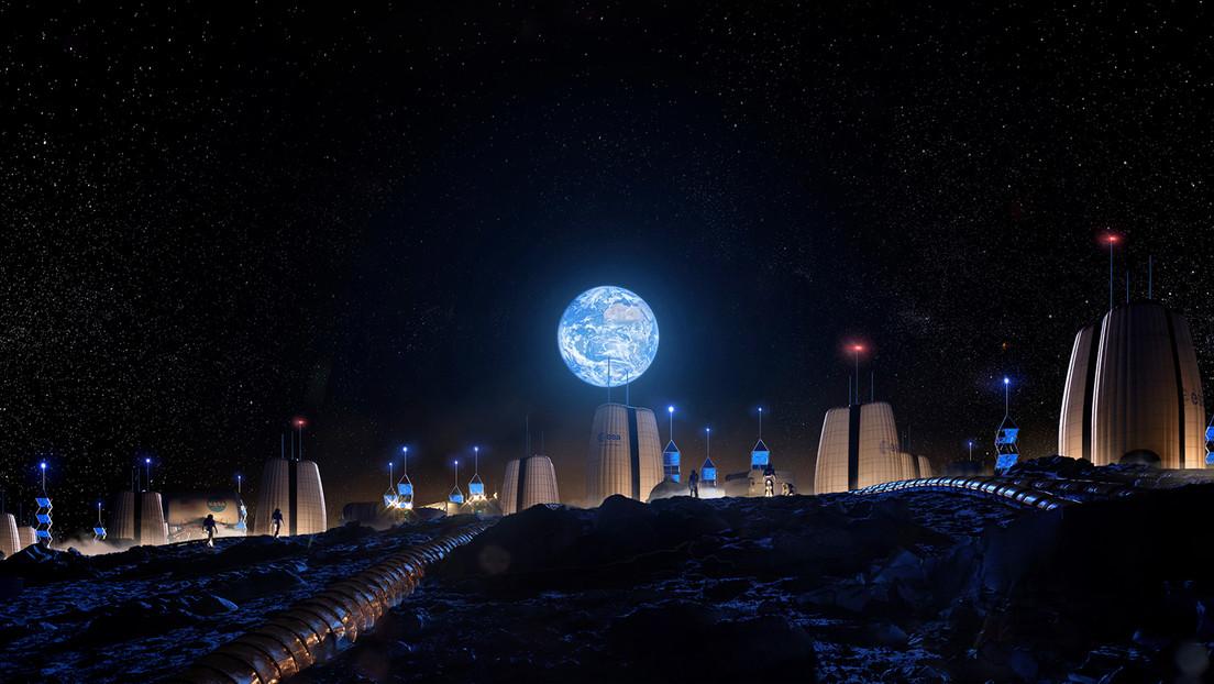 Así estaremos en la Luna: revelan qué aspecto tendrá el primer asentamiento humano en nuestro satélite (FOTOS)