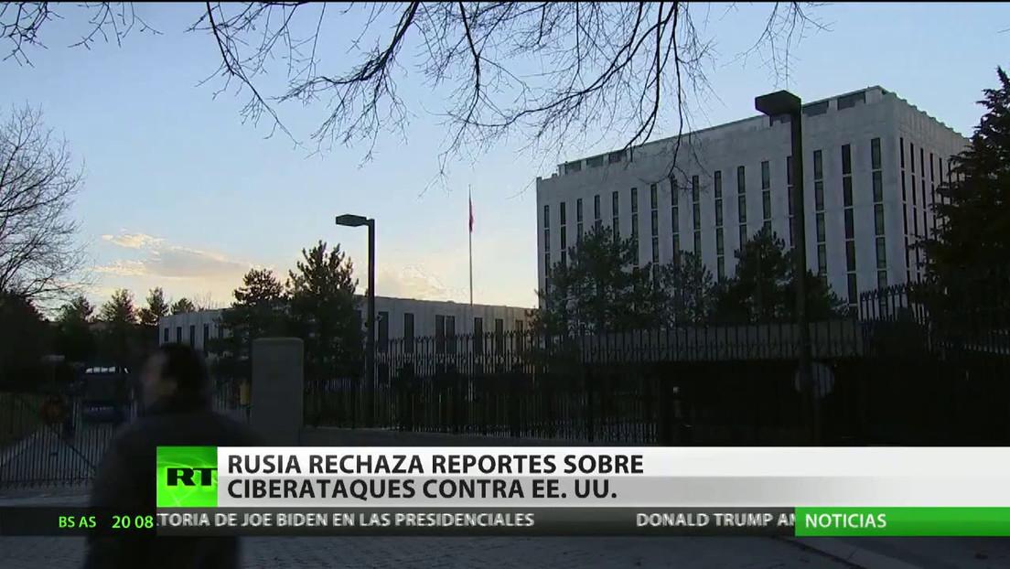 Rusia rechaza reportes de ciberataques contra EE.UU.