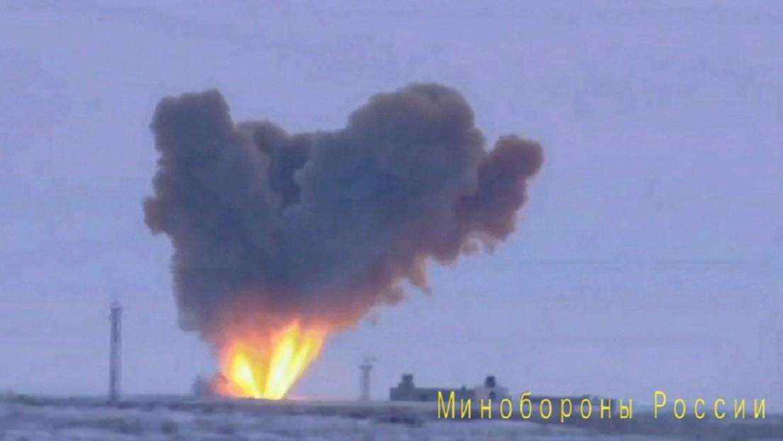 VIDEO: Muestran por primera vez el misil balístico hipersónico ruso Avangard