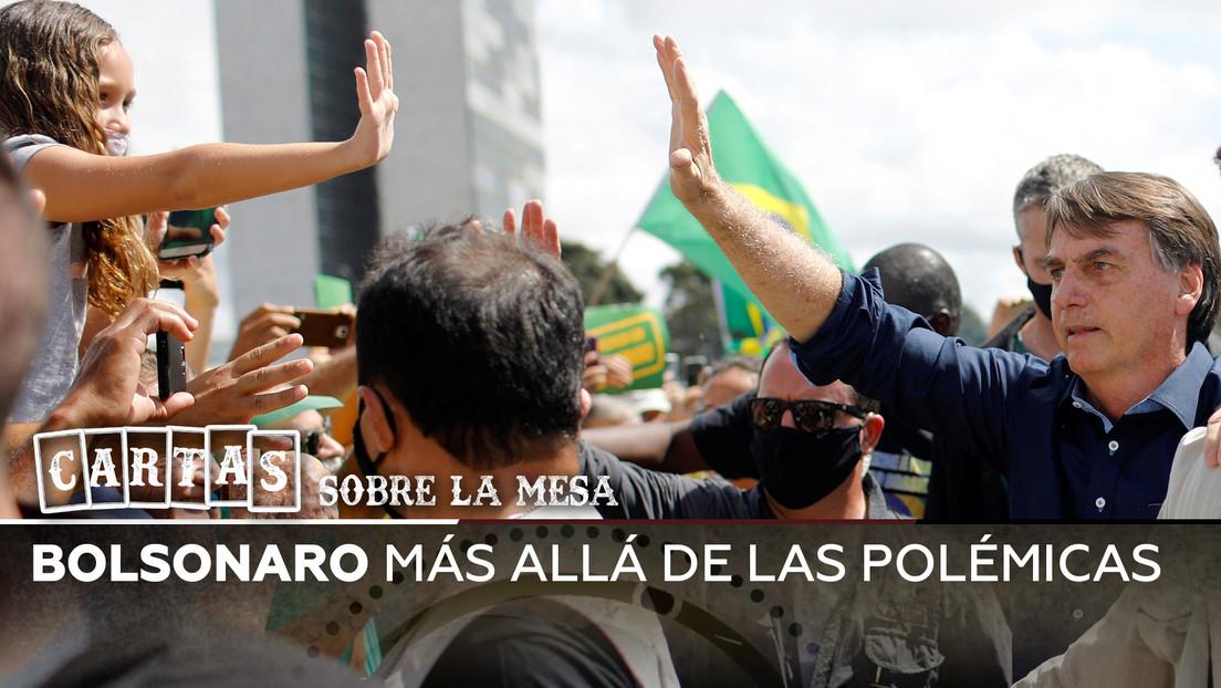 Bolsonaro más allá de las polémicas