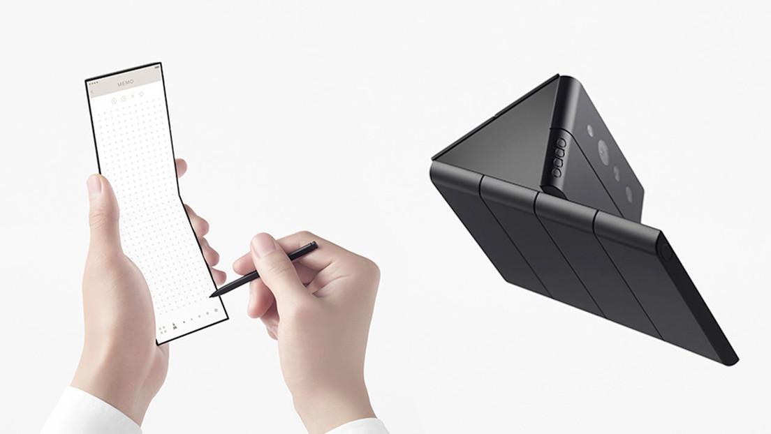 VIDEO: OPPO presenta un teléfono plegable conceptual capaz de funcionar en siete estados diferentes