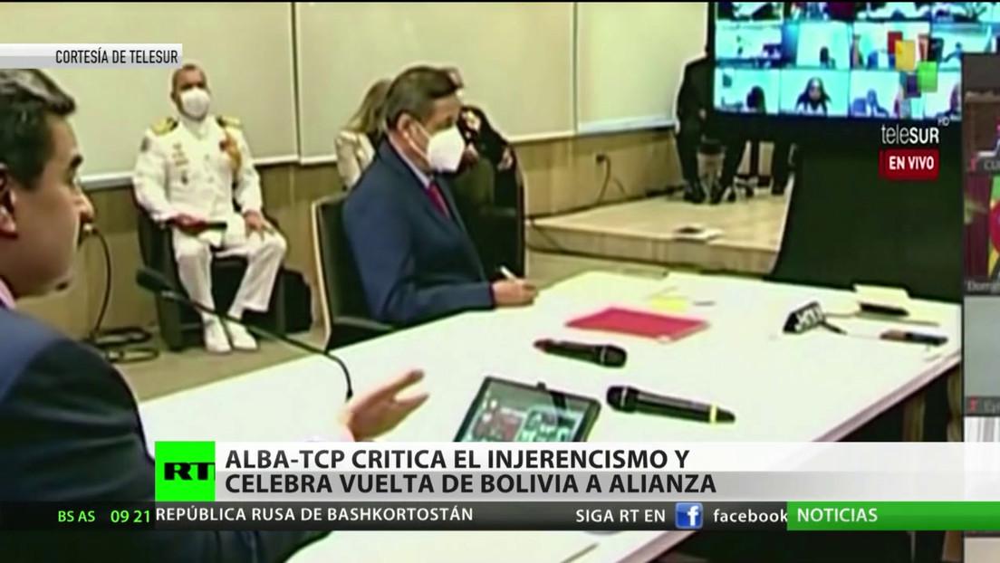 ALBA-TCP critica el injerencismo y celebra el regreso de Bolivia a la alianza