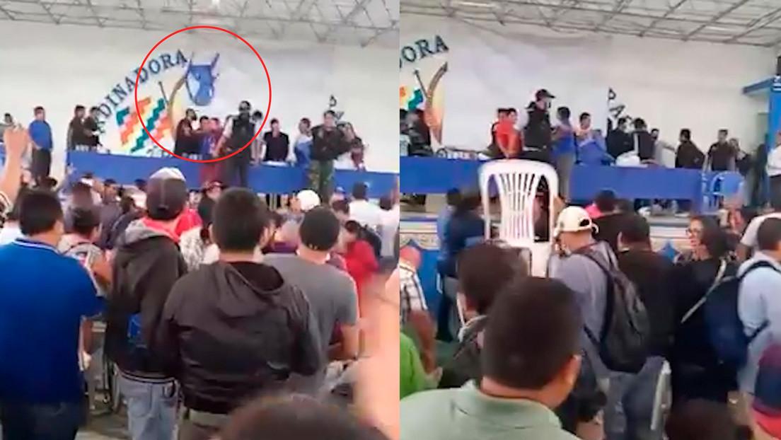 """Evo Morales denuncia que la derecha envió a """"infiltrados"""" tras sufrir una agresión durante una reunión del MAS"""