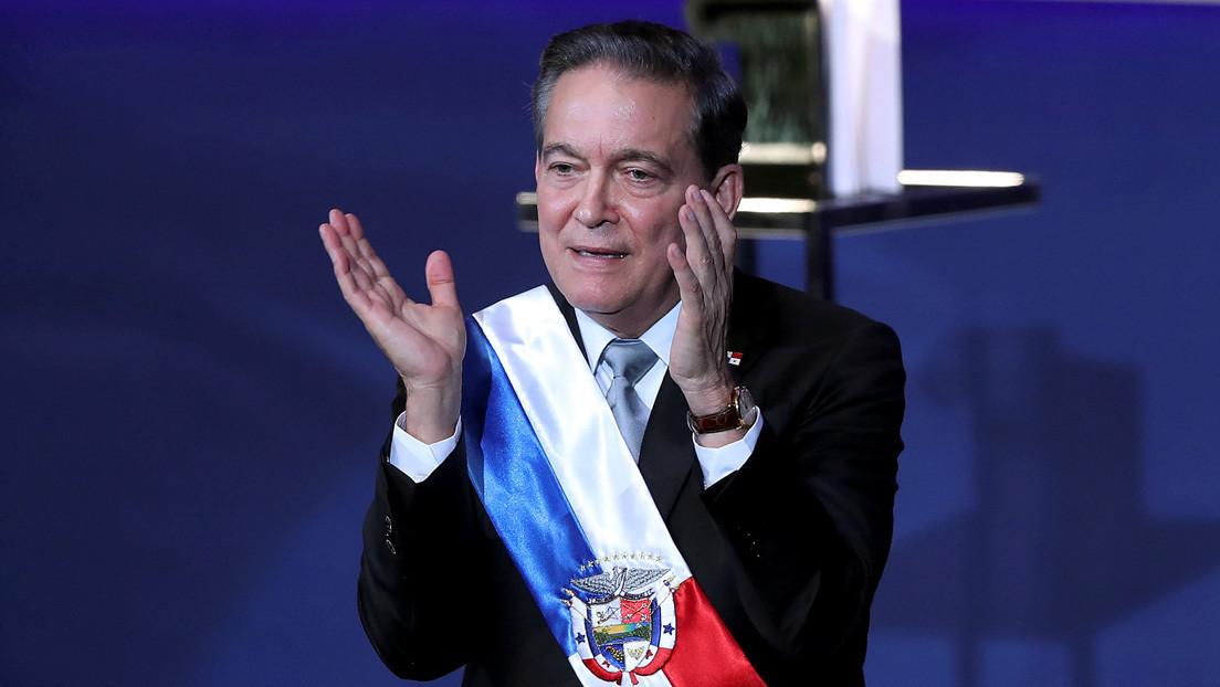 """Piden valorar el estado mental del presidente de Panamá diciendo que si contrae el coronavirus lo hará """"rifa"""" y se irá"""
