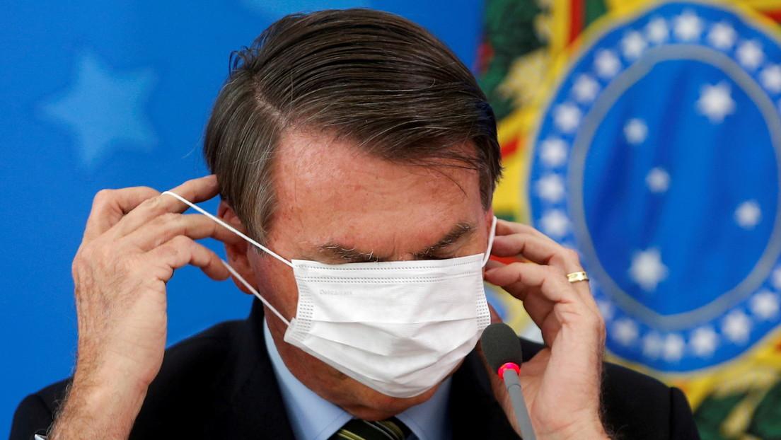 """""""¿Mi vida está en riesgo? Es problema mío"""": Bolsonaro rechaza vacunarse contra el coronavirus"""