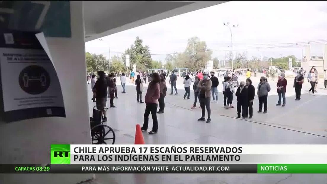 Chile aprueba 17 escaños reservados para los indígenas en la Cámara de Diputados