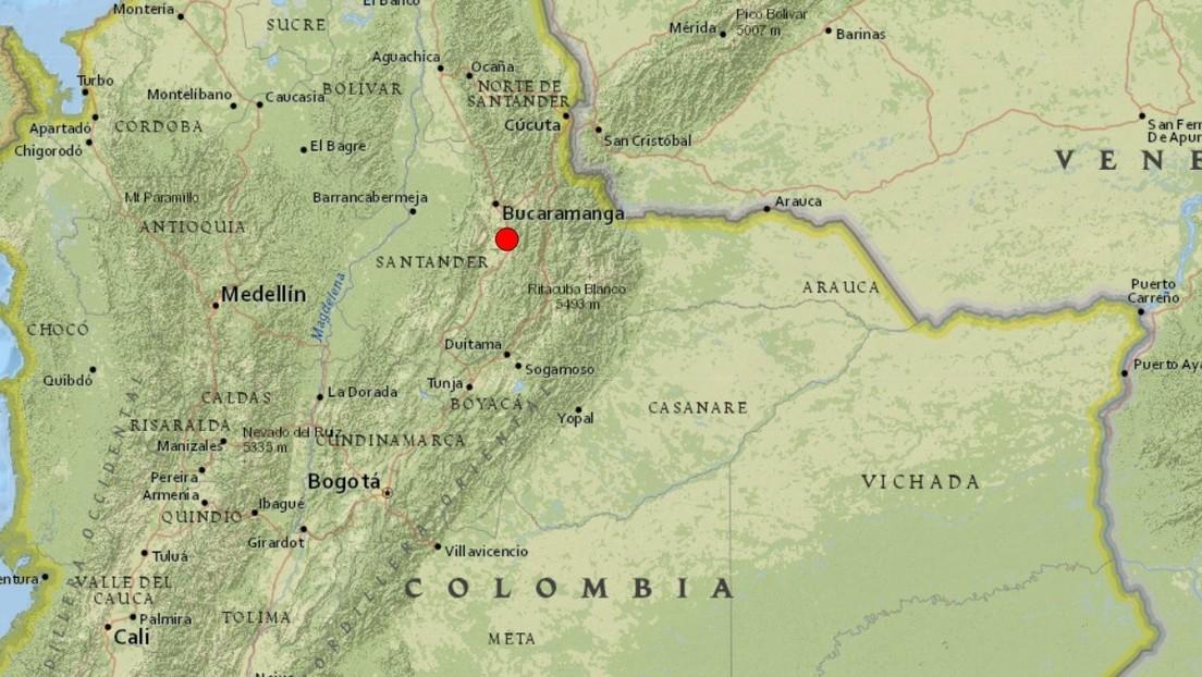 Se registra un sismo de magnitud 5,0 en Colombia y se siente en Bogotá y Medellín