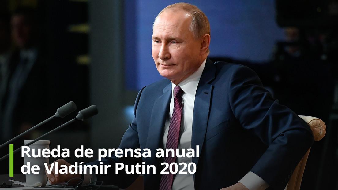 Vladímir Putin ofrece su gran rueda de prensa anual: estos son sus puntos clave