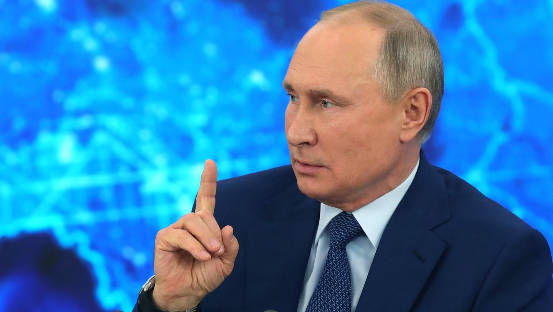 """Putin responde a un periodista de BBC: """"Somos inocentes y adorables en comparación con ustedes"""""""