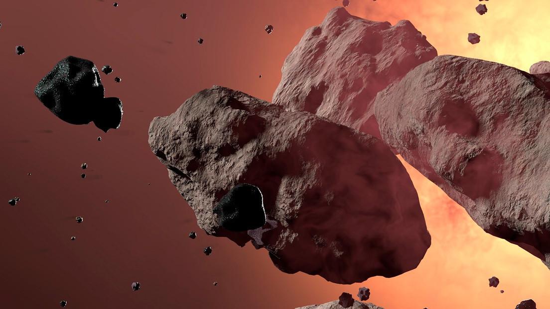 La NASA advierte que siete asteroides se aproximan esta semana a la Tierra